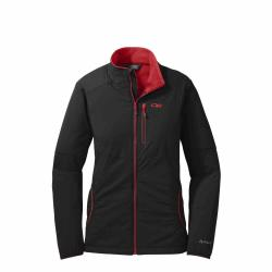 Outdoor Research W's Ascendant Jacket 2018 Black/Flame S