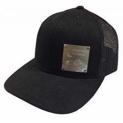 Splitter Designs Wildyx Engrave Plaque Hat Silver/Gold/Black