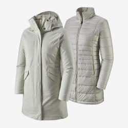Patagonia W's Vosque 3-in-1 Parka 2019 Dyno.wht S