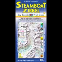 Sky Terrain Maps Steamboat Springs, Mount Zirkel - 3rd Edition