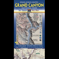 Sky Terrain Maps Grand Canyon National Park - 5th Edition