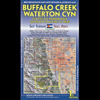 Sky Terrain Maps Buffalo Creek, Waterton - 1st Edition