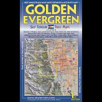 Sky Terrain Maps Golden, Evergreen - 1st Edition