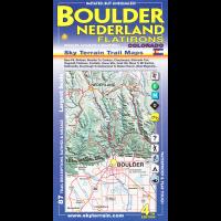Sky Terrain Maps Boulder, Nederland, Flatiron, CO - 4th Edition