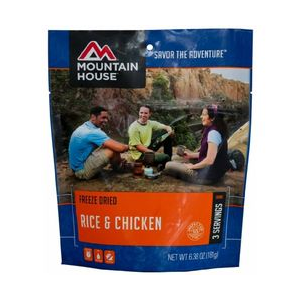 Rice & Chicken 20oz Meal