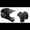 Demon MTB Helmet and Knee Pad Combo Deal