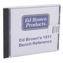 Ed Brown 1911 Bench Reference Cd-Rom