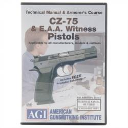 Agi Cz-75 & Eaa Witness Technical Manual & Armorer's Course Dvd
