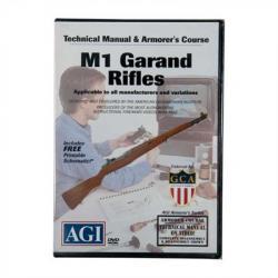 Agi M1 Garand/M1a Rifles Technical Manual And Armorer's Course Dvd