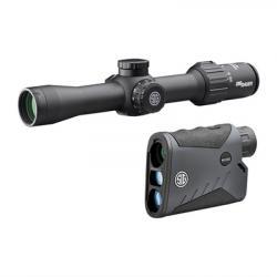 Sig Sauer, Inc. Kilo1000bdx Lrf And Sierra3bdx Rifle Scope 2.5-8x36mm Combo Kit