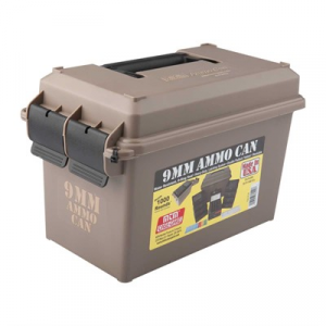 Mtm Ammo Can 9mm Polymer Tan