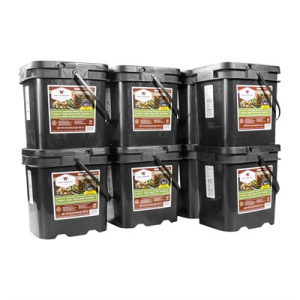 Wise Foods 480 Serving Gourmet Freeze Dried Meat Grab & Go Food Kit