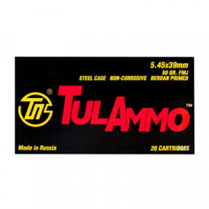 Tulammo Usa Steel Case Ammo 5.45x39mm 60gr Fmj