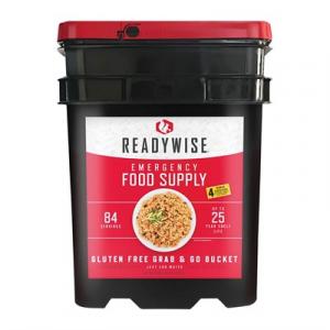 Wise Foods 84 Serving Emergency Breakfast & Entree Kit-Gluten Free