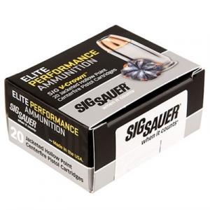 Sig Sauer Elite Performance Ammo 357 Magnum 125gr Jhp