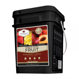 Wise Foods 156 Serving Emergency Survival Freeze Dried Fruit-Gluten Free