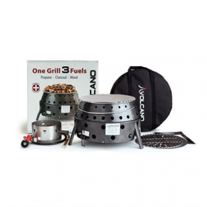 Volcano Outdoors Collapsible Grill W/ Propane