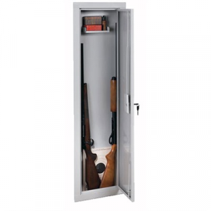 Stack-On Products Company 55-Inch In-Wall Steel Security Cabinet