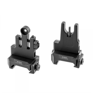 Bobro Engineering Ar-15 Low Profile Lowrider Buis Sight Set