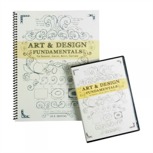 Lee Griffiths Art & Design Book And Dvd Combo Pack