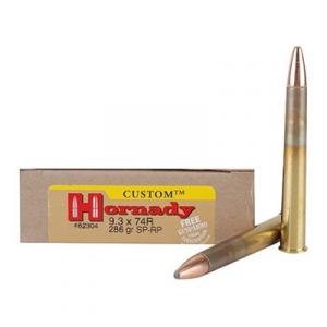 Hornady 9.3mmx74r 286gr Interlock Sp-Rp 20/Bx