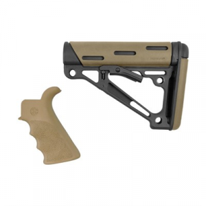 Hogue Ar-15 Finger Groove Grip W/Collapsible Commercial Buttstock