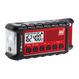 Midland Radios Er310 Emergency Crank Weather Alert Radio
