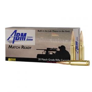 Abm Ammo Match Ready Target Ammo 308 Winchester 155.5gr Berger Match