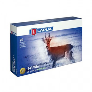 Lapua Naturalis Ammo 308 Winchester 170gr Solid
