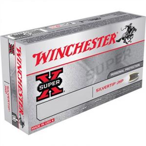 Winchester Silvertip Ammo 38 Super +p 125gr Hp