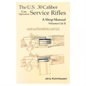 Heritage Gun Books Us 30 Caliber Service Rifles- Volumes I & Ii Shop Manual
