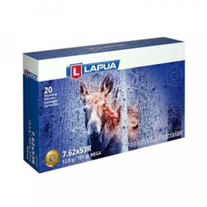 Lapua Mega Ammo 7.62x53r 185gr Soft Point