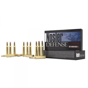 Nosler, Inc. Defense Ammo 6.8mm Remington Spc 90gr Bonded