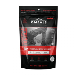 Omeals Premium Outdoor Foods Vegtable Stew With Beef Mre