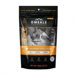 Omeals Premium Outdoor Foods Southwest Style Chicken With Rice Mre