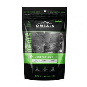 Omeals Premium Outdoor Foods Vegetation Chili Mre