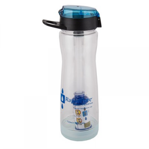 "Rapidpure Intrepid Water Bottle With 2.5"" Filter"