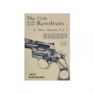 Heritage Gun Books Colt Double Action Revolvers Shop Manual- Volume I