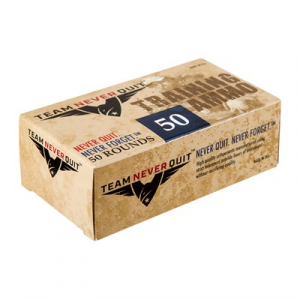 Team Never Quit Frangible Lead Free Training Ammo 38 Special +p 110gr Fmj-Fn