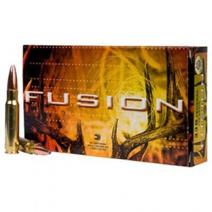 Federal Fusion Ammo 338 Federal 200gr Bonded Bt