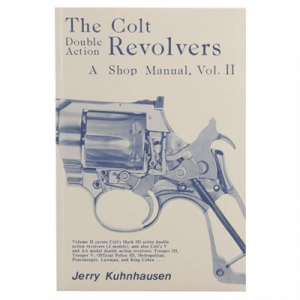 Heritage Gun Books Colt Double Action Revolvers Shop Manual- Volume Ii