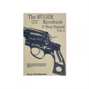 Heritage Gun Books Ruger~ Double Action Revolvers Shop Manual