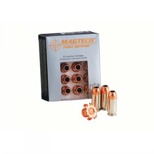 Magtech Ammunition First Defense Ammo 45 G.A.P 165gr Schp