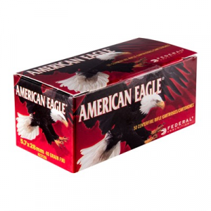 Federal American Eagle Ammo 5.7x28mm 40gr Fmj