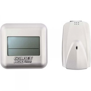 Lockdown Safe & Security Acc. Golden Rod Digital Wireless Hygrometer