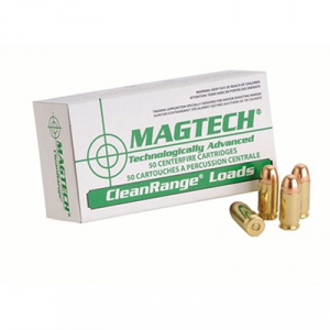 Magtech Ammunition Cleanrange Ammo 9mm Luger 115gr Feb