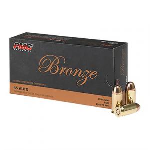 Pmc Ammunition, Inc. Bronze Ammo 45 Acp 230gr Fmj