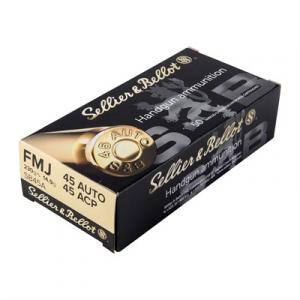 Sellier & Bellot Handgun Ammo 45 Acp 230gr Handgun
