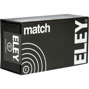 Eley Americas Match Ammo 22 Long Rifle 40gr Lead Flat Nose