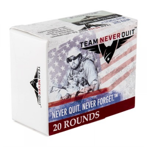 Team Never Quit Frangible Hp Ammo 45 Acp 155gr Hp